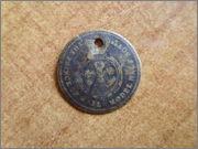 Jetón de la Reina Victoria del Reino Unido. P1290806