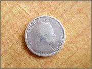 1/8 Birr. Etiopía (entonces Abisinia) (1894) P1300043
