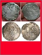 8 reales macuquinos. Felipe III. Méjico. MF (1607-1617) Photo_Grid_1453762817905
