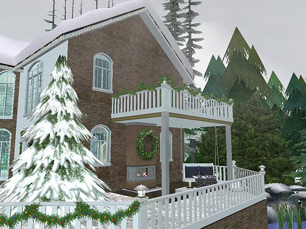 Vánoce u Simíků 2017 Christmas_Lane_oudoor_11
