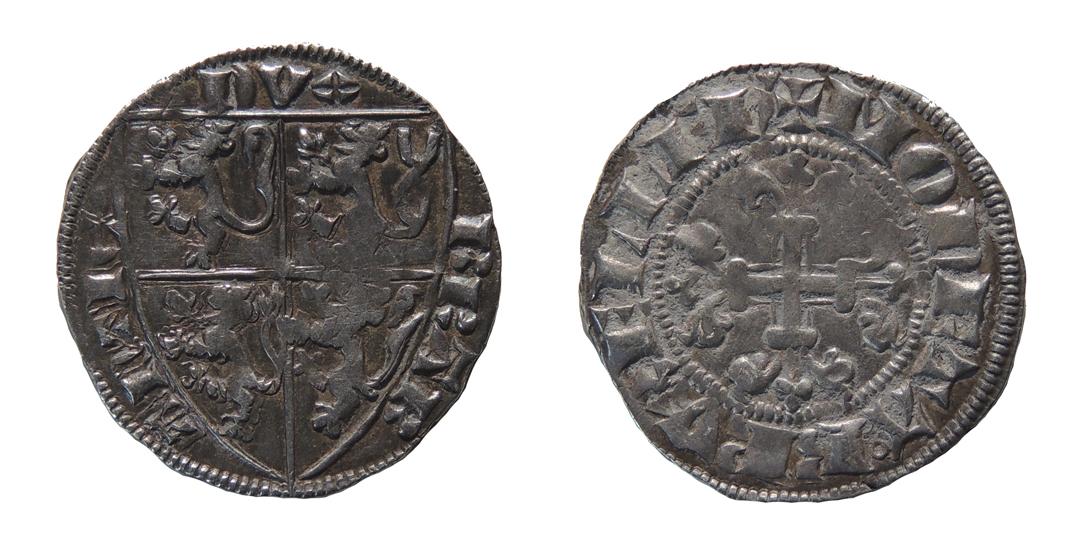 Esterlin de Jean III, duque de Brabante, de Bruselas 1_4_18