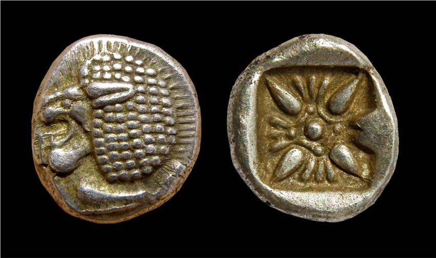 1/12ème de statère archaïque ionien de Milet  Obole_de_Milet1