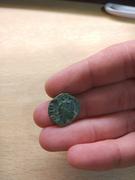 Antoniniano de imitación hispánica de Claudio II. CONSECRATIO. Altar  IMG_20180109_001111