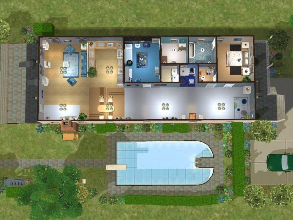 Stavba podle půdorysu Houseplan Pudorys