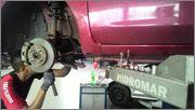 Troca da pastilha de freio do Nissan March 1.6 16V BR/MEX. Image