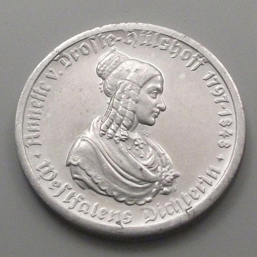 Monedas de emergencia emitidas por el banco regional de Westphalia 1923_50a
