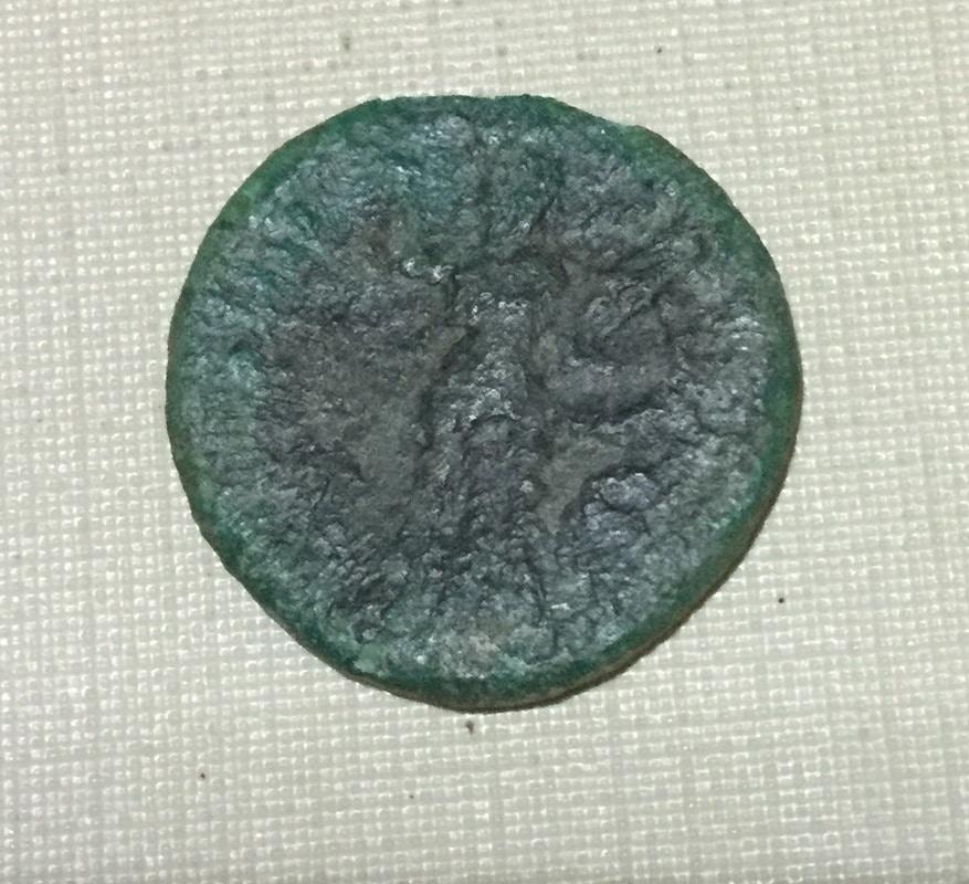 As de Domiciano. Minerva estante a dcha. Ceca Roma. IMG_0014