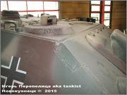 """Немецкая тяжелая САУ  """"JagdPanther""""  Ausf G, SdKfz 173, Deutsches Panzermuseum, Munster Jagdpanther_Munster_047"""
