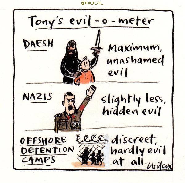 Da li su nacisti imali srama? Evilmeter
