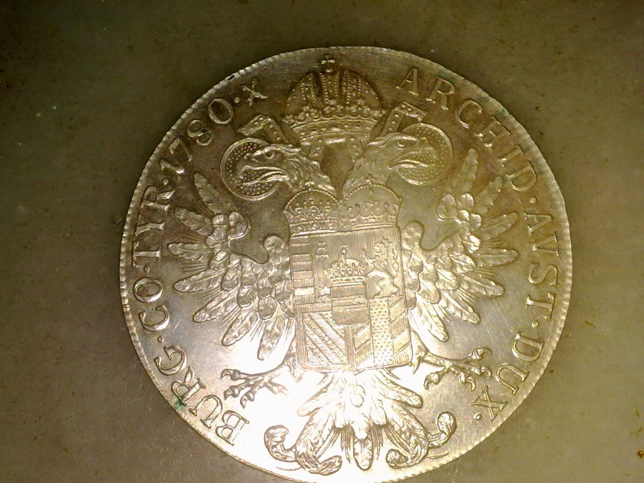 1 Thaler de Maria Teresa. Austria. 1780. Reacuñación.  M_teresa_003