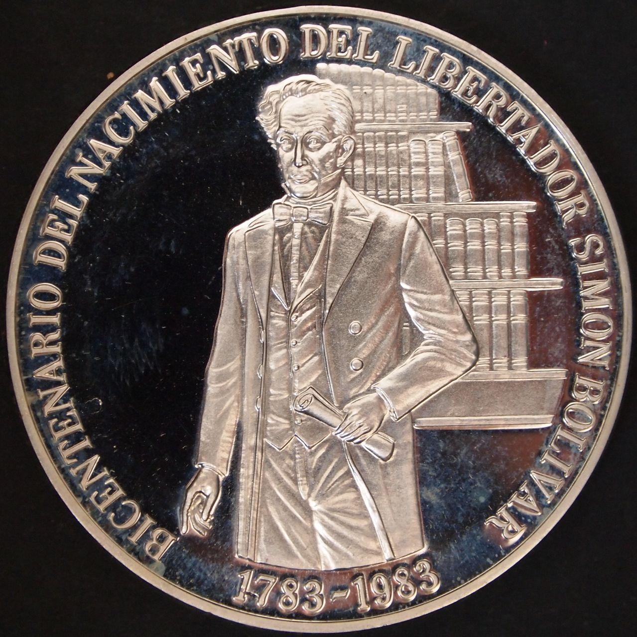 100 bolivares 1983 Venezuela 1