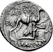 Glosario de monedas romanas. ARETAS III, Rey de Nabatea. Image