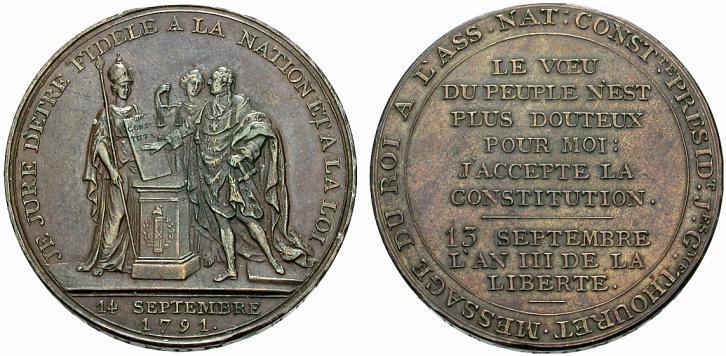 5 Sols Monneron Freres 1793 Francia Monneronsermentduroi