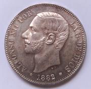 5 pesetas Alfonso XII 1882*18-82 MSM IMG_20180429_114802