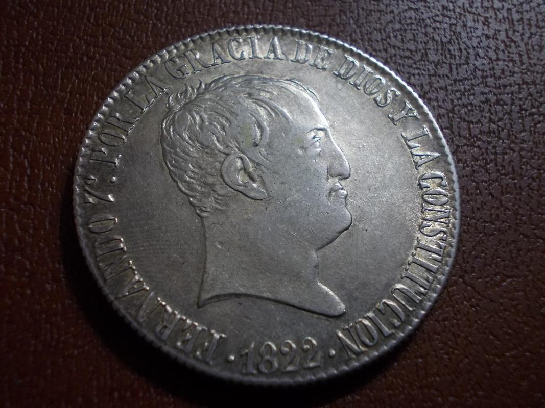 20 Reales 1822. Fernando VII. Madrid DSCN2434