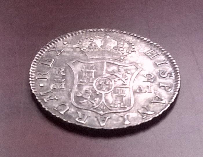 2 reales 1807, Madrid Carlos IV WP_20160207_018