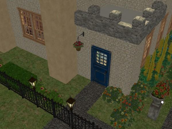 Kopie nejmenšího anglického hradu - Stránka 2 1vchod_zvenku