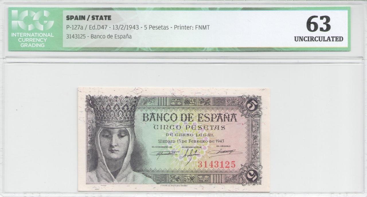 Colección de billetes españoles, sin serie o serie A de Sefcor Cat_lica_anverso