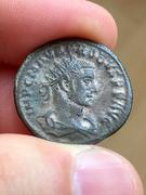Aureliano de Probo. CLEMENTIA TEMP. Probo recibiendo globo de Júpiter. Ceca Tripolis. IMG_3865