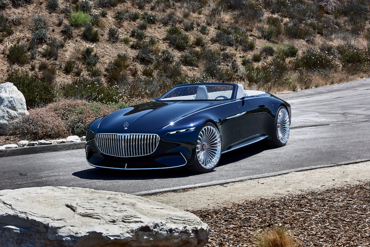 Maybach X tesla With-its-long-hood-the-vision-evokes-imagery-of-