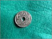 50 Centimos - España 1949 Buena_4_1