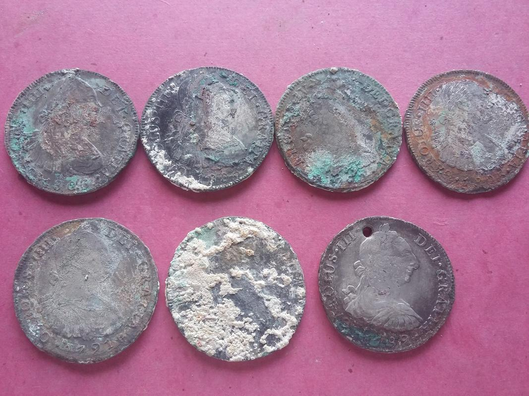 Monedas de pecio, ¿ limpiar o no limpiar ? 20180131_164815