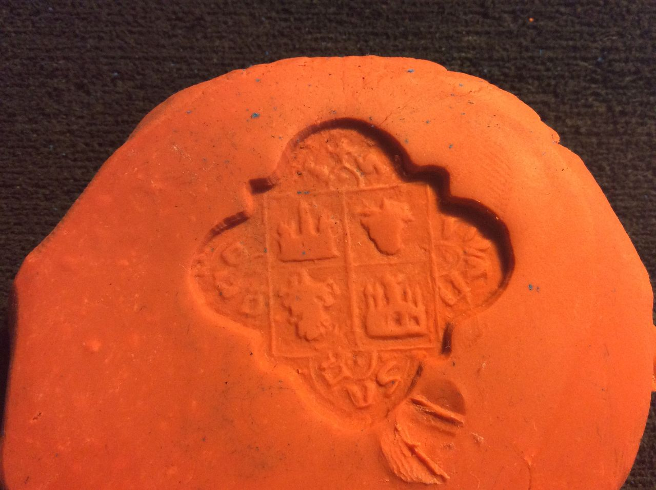 Matriz sello cuatrilobulado IVAN SANCHES (?) Image