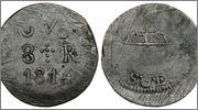8 reales SUD 1814 José María Morelos. Mejico 884438