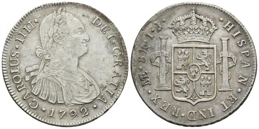 8 Reales 1792. Carlos IV. Lima - Página 2 1792