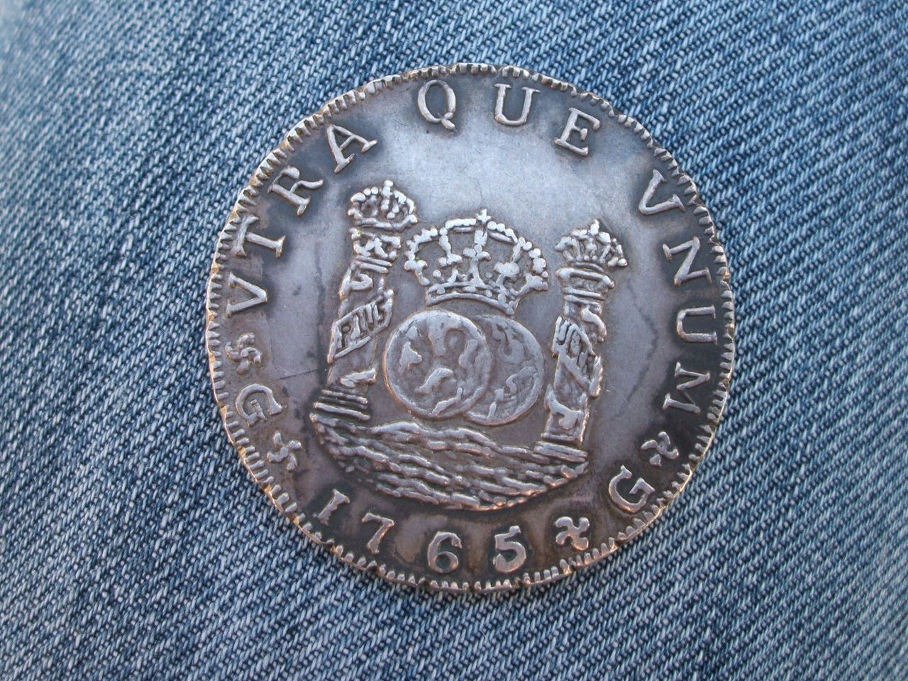 """8 reales """"columnarios"""" 1768.  Carlos III. Méjico. - Página 2 016"""