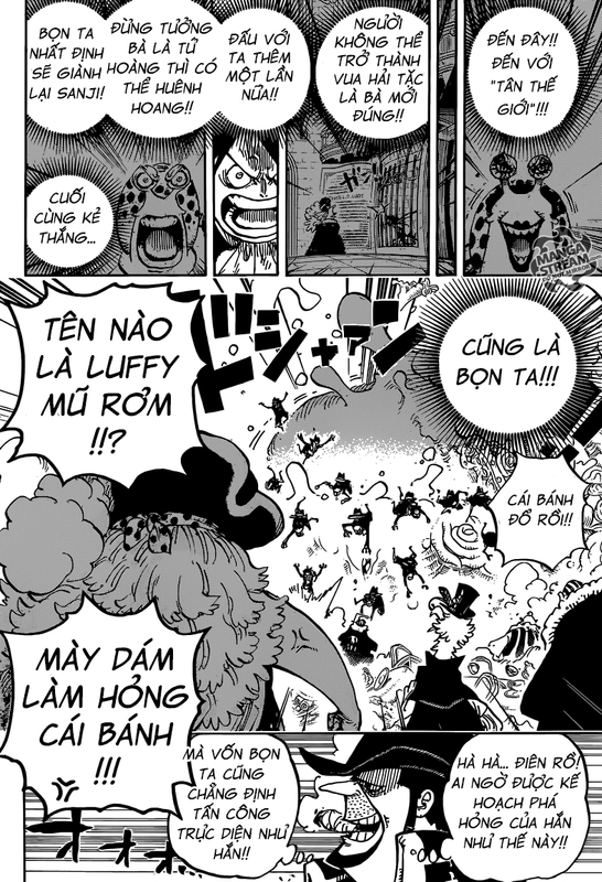One Piece Chapter 863: Phe nghĩa thiệp Image