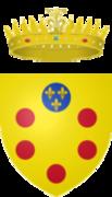 "Tollero ""porto"" de Cosme III Coat_of_arms_of_the_Grand_Duke_of_Tuscany"