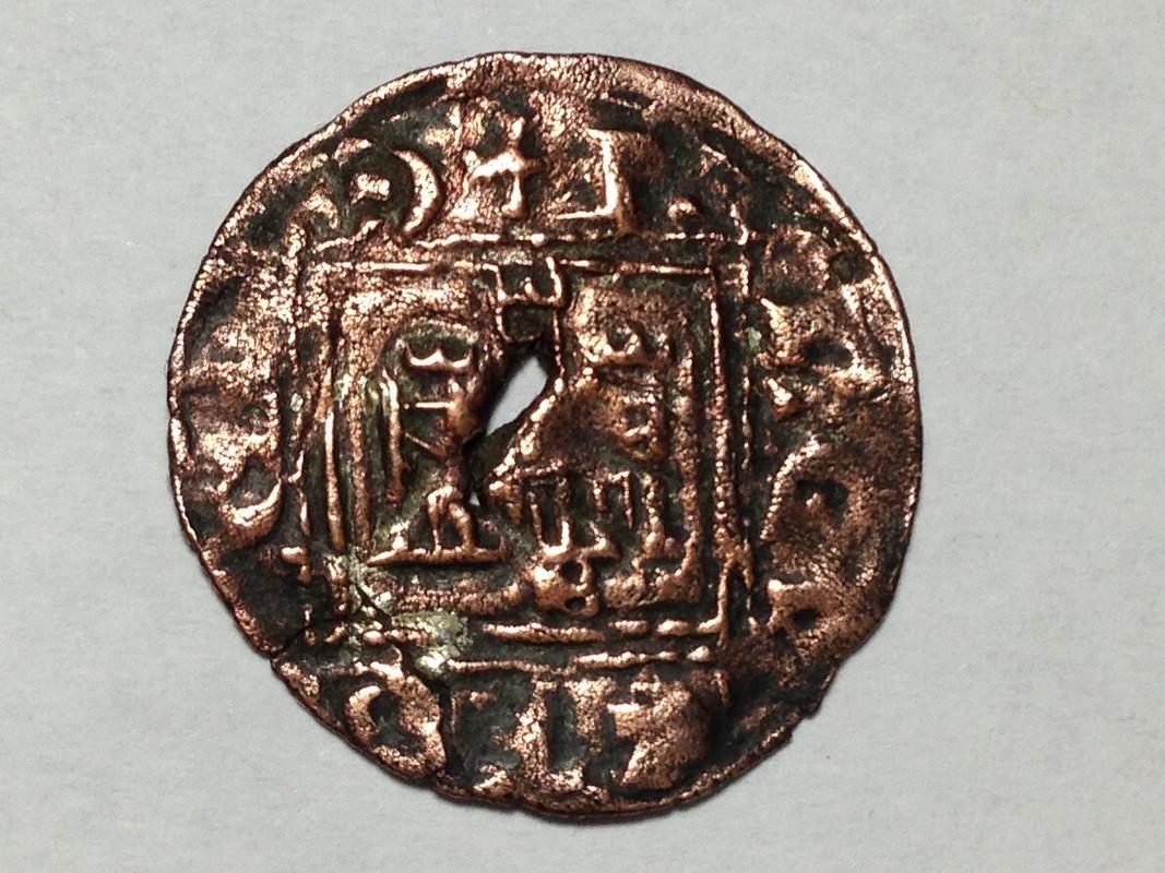 Dinero de Alfonso XI emisión de 1330. Burgos (Falso de época) IMG_1153