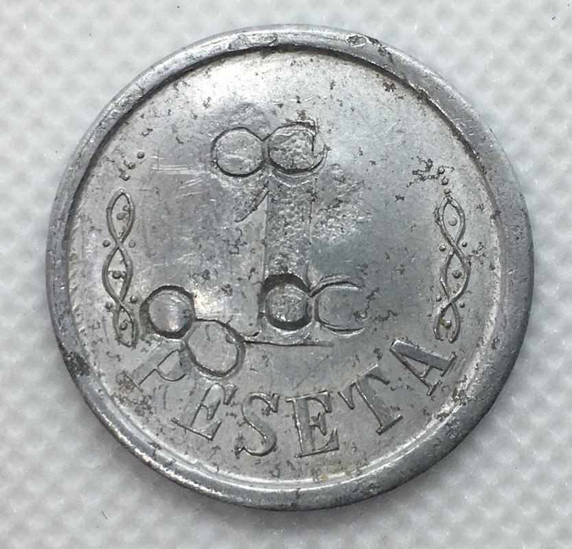 1 peseta 1937 L'Ametlla del Vallés. Guerra Civil. Emisión Local. Resellos 8. ED4_FAB7_D-_E6_BC-4_D4_C-_A3_BF-8550_A3_A64_B79