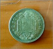 2,5 pesetas 1953*69 Image
