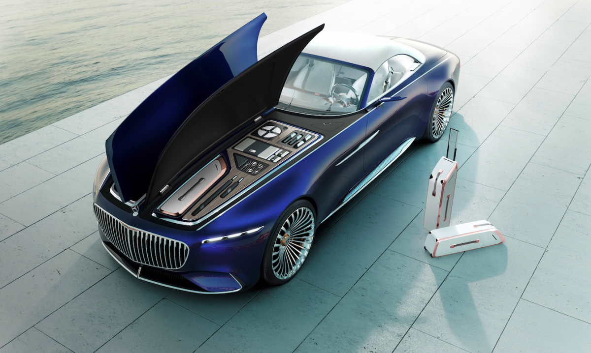 Maybach X tesla So-whats-underneath-that-long-hood-if-theres-no-