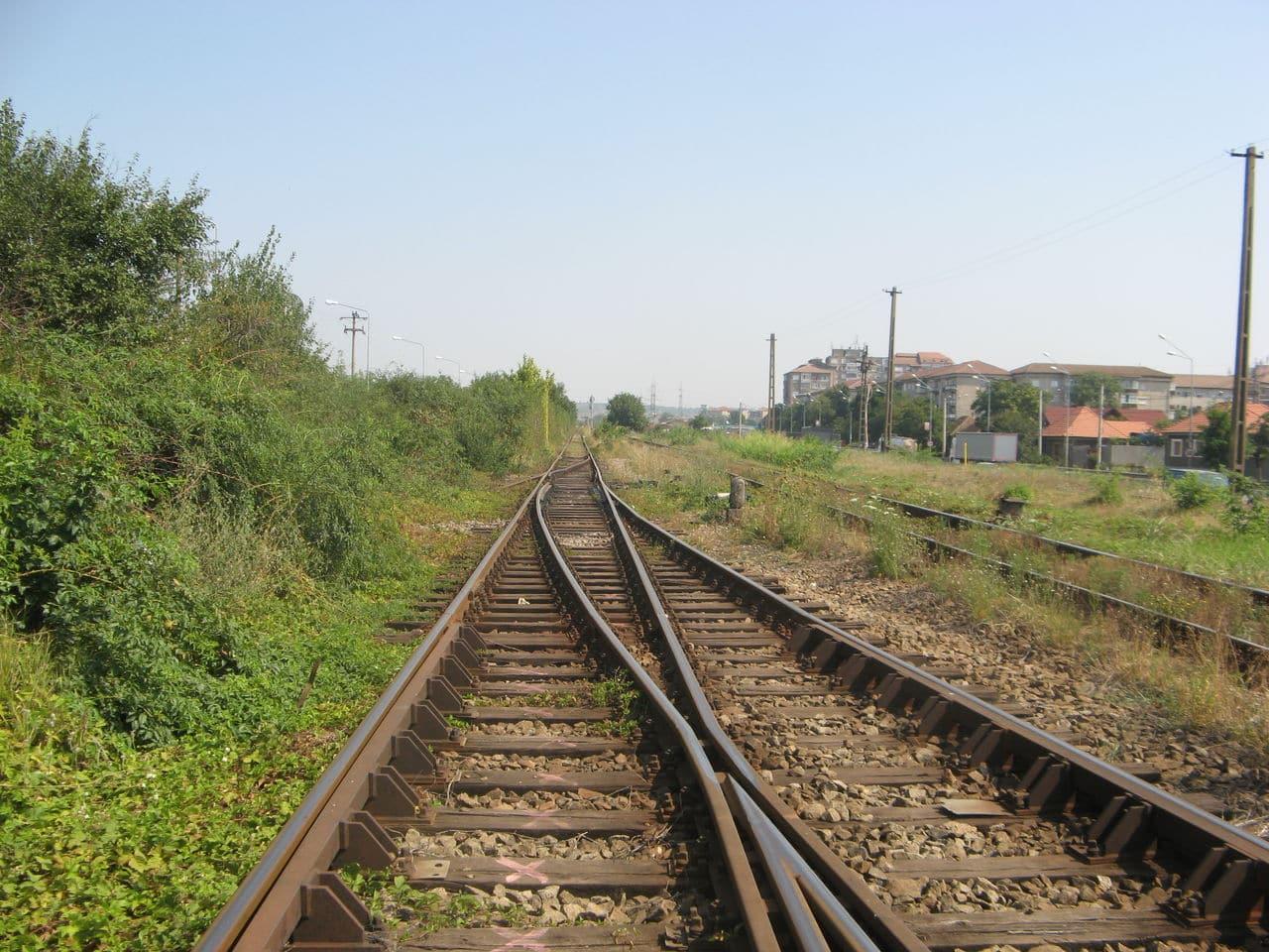 Calea ferată directă Oradea Vest - Episcopia Bihor IMG_0007