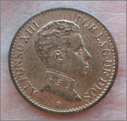 1 céntimo 1906. Alfonso XIII. DSC05915