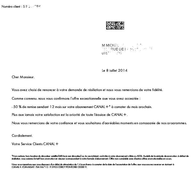 QoQa offre Canal+ du 13.03.2015 Canalplus