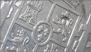 8 Reales 1796 CarlosIV Ceca mejico FM.  con resellos  20141231_155507