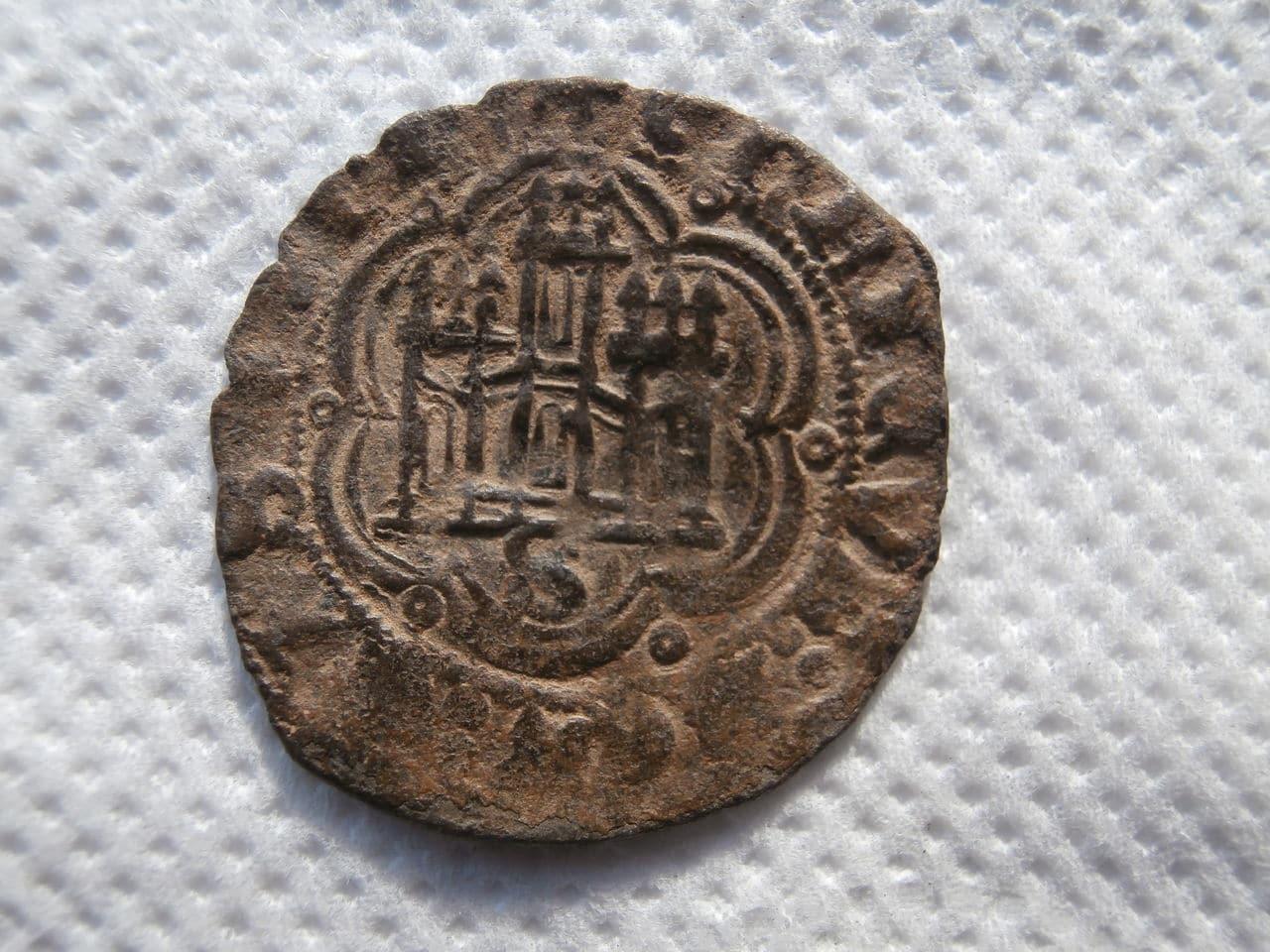 Blanca de Enrique III de Castilla 1390-1406 Sevilla. P1070133