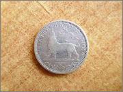 1/8 Birr. Etiopía (entonces Abisinia) (1894) P1300042