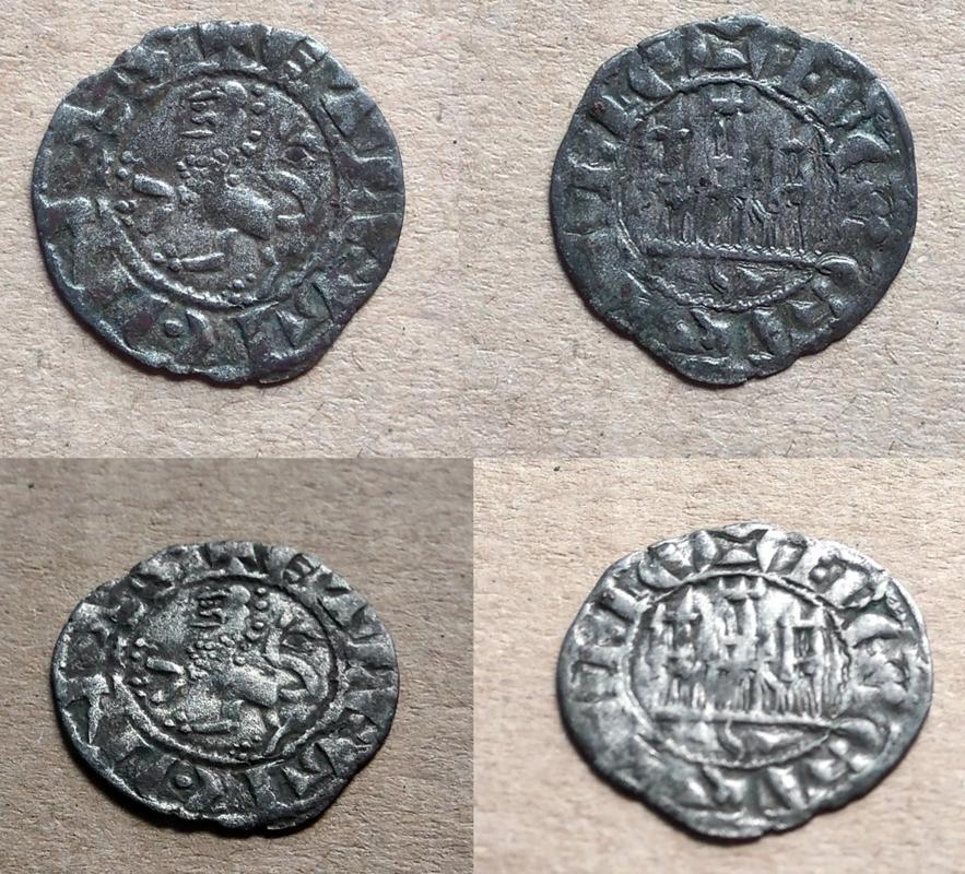 Dinero de Fernando IV. Sevilla  Medieval_1