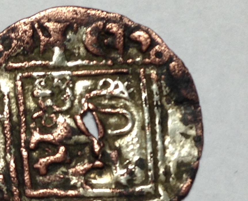 Dinero de Alfonso XI emisión de 1330. Burgos (Falso de época) IMG_1150