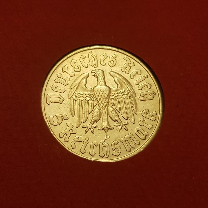 Monedas Conmemorativas de la Republica de Weimar y la Rep. Federal de Alemania 1919-1957 - Página 4 1933b