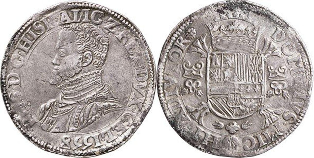 Monedas acuñadas en los Paises Bajos a nombre de Felipe II - Página 5 Image00006