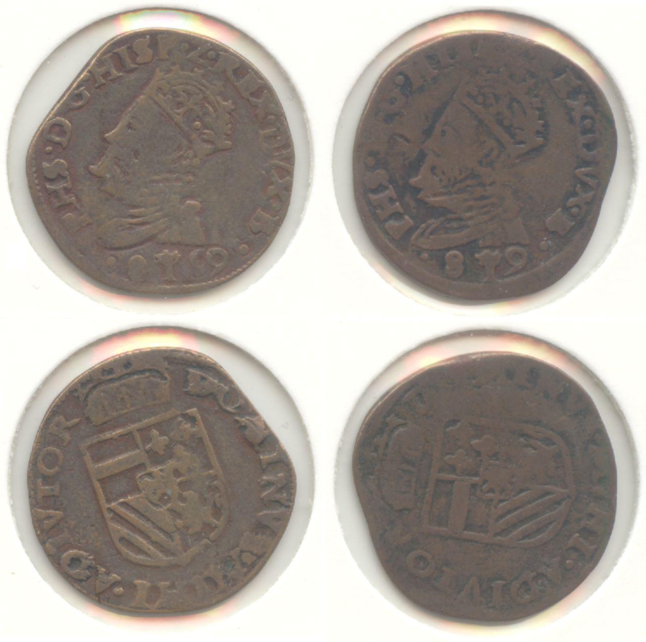 Monedas acuñadas en los Paises Bajos a nombre de Felipe II - Página 7 Hertogelijke_oord_1589_600_20_10