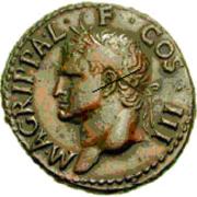 Glosario de monedas romanas. CORONA ROSTRAL. Image