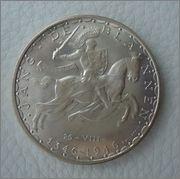 100 Francos 1946 Luxemburgo Image
