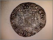 1/2 Cuarto de Enrique IV de Castilla 1454-1474 Burgos. R107_1
